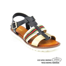 factory directly sale high quality cheap pvc sole cut out malindi sandal for sale