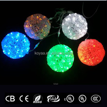 led motif light in the shape as crystal ball outdoor christmas ball lights