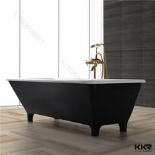 Solid surface gel coat bathtub, acrylic stone bath tubs