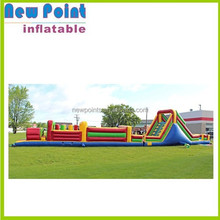 Ultimate fun inflatable obstacle course for children's challenging race,inflatable obstacle course for adults