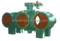 Four Way Motor Butterfly Valve XD941X from Tieling Liaoning