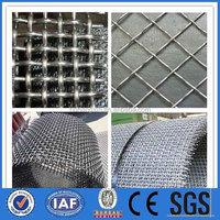 decorative crimped wire mesh,high quality crimped screen