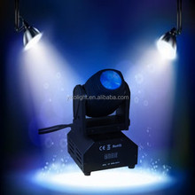 club light show 12w moving head beam lighting design