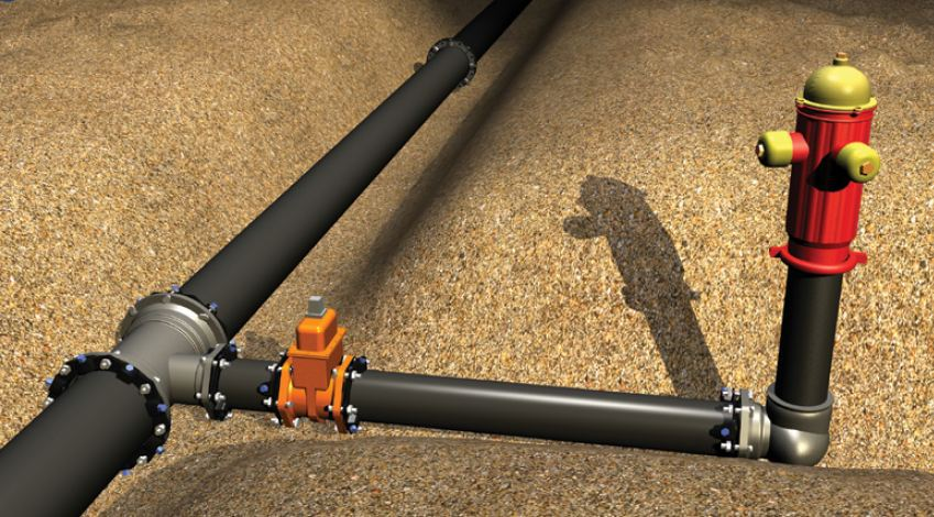 Megalug mechanical joint restraint view ebaa