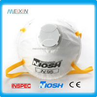 Meixin PPE Disposable Dust Mask Mouth An trust Filter Medical Safety Respirator