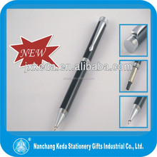 2015 Metal linear cutting decorative bead fancy ballpoint pen