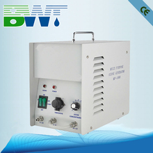 Variable ozone output control and air source ozonator used to oil application