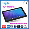 New vision Android 4.4 10.1 inch ips touch screen tablet pc