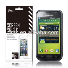 3X mobile phone screen protectors for Samsung galaxy s i9000 oem/odm (Anti-Fingerprint)