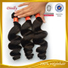 New arrival 8-30inch hot sale raw unprocessed 100% human loose wave weft virgin indian human hair