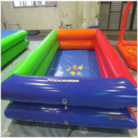 Fwulong hot-selling PVC 0.55mm large inflatable pool rental/inflatable pool toys