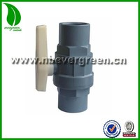 Top quality 2 Pieces PVC Ball Valve for Agriculture Irrigation