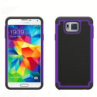 wholeslase phone cases ball textured hybrid combo case for samsung i537