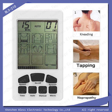 Dual Channels 3 in 1 Alternant Working Programs Acupuncture Point Stimulator