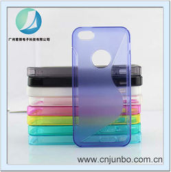 Wholesale custom silicon style anti shock silicon case for iphone 5
