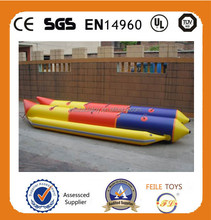 2015 colorful inflatable double water boat,inflatable boat for sale,used rigid inflatable boats for sale