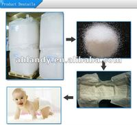 SAP High polymer for baby diaper