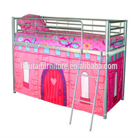 kids double deck bed for girl