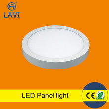 High lightness led panel lightwall mounted led panel light 12w round and square sharp