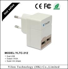 Free Logo print AU plug usb home wall charger 2A for smart phone