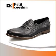 Hommes chaussures habillées en cuir casual matériel semelle extérieure en cuir chaussures