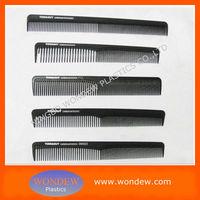 Carbon hair combs