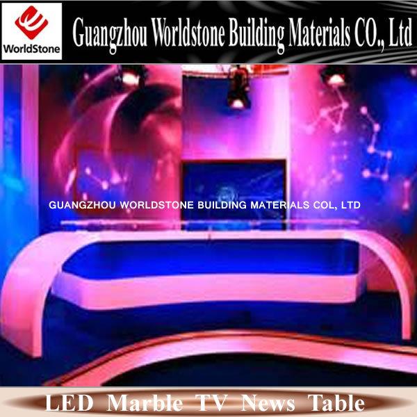 Tv News Desk Table For Sale View Tv News Desk Worldstone