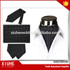 2015 Black polka dot polyester men's cravat necktie