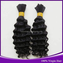 2014 New Products Top Quality Kason Hair Products Peruvian Milky Way Chocolate Wet And Wavy Bulk Hair
