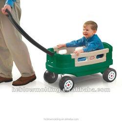 custom 4 wheel kids plastic wagon Garden Cart utility cart baby motorcycle