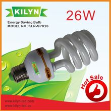 Long Lasting 26W half Spiral Energy saving bulb