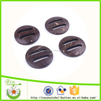 Great natural look Simply adorable natural coconut coat buckles