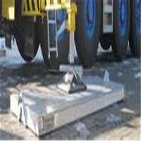 heavy load Ground Cover Mats/temporary Outrigger Pads Product/Wear resist road board uhmwpe
