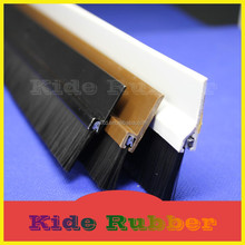 KIDE weather strip bottom door draught excluder pvc brush seal