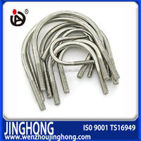 Best quality Customed carbon steel and 304 stainless steel U bolt