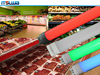 pink color tube led t9 make meat display fresh light