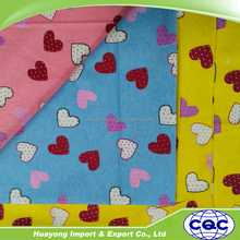 OEM servise 100% Cotton Plain, Weaven, Printed Flannel Fabric
