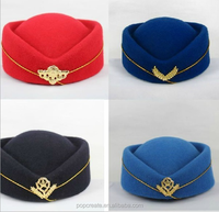 100% Woolen color Muslim felt Hats