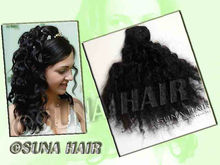 Indian Natural Stricking straight low price virgin remy human hair extension