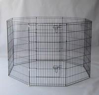8 Panels Light Duty Dog Puppy Cat Rabbit Exercise Fence Pen Exercise Pet Playpen