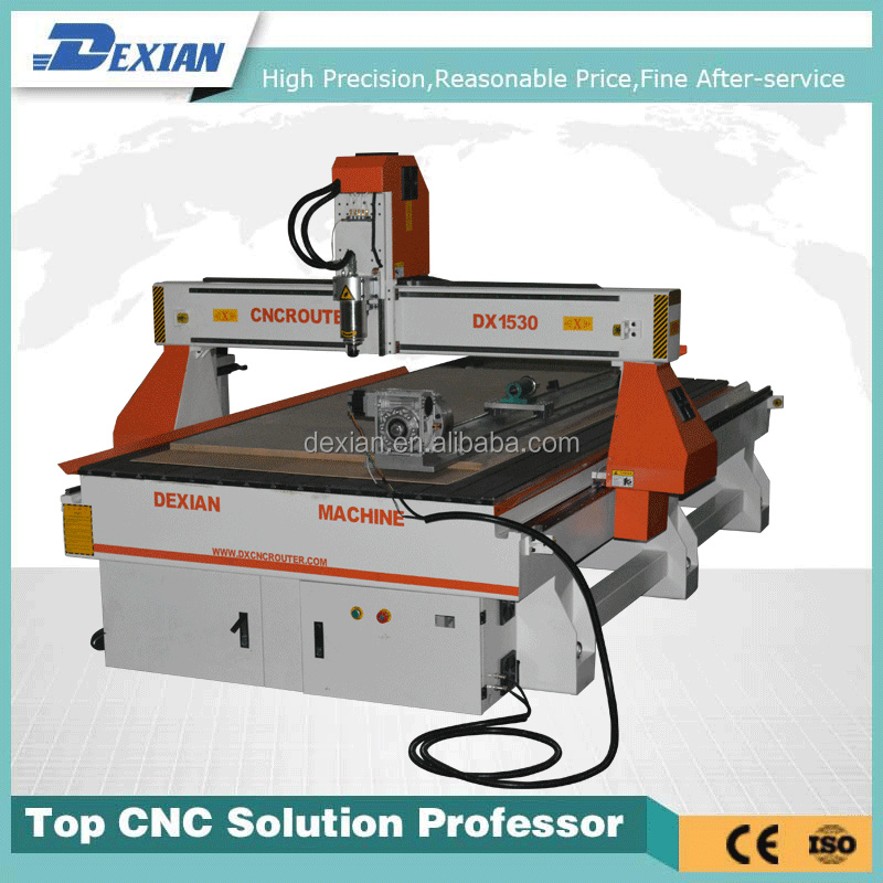Dx 1530 Stepper Motor Cnc Machine Cnc Router With Rotary