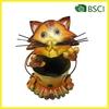YS14847 Metal cat planter garden rusty metal decoration