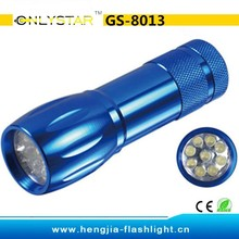 GS-8013 cost effective top gifts promotion led pocket torch