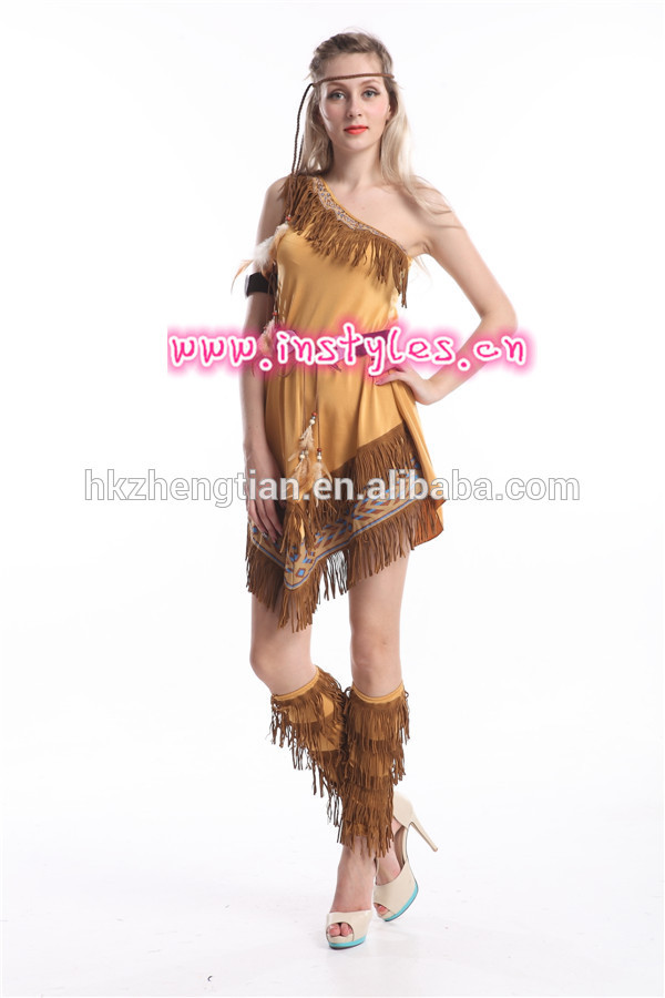 الصين أفضل الصانع الساخنة كرنفال walson r حلي السيدات instyles المحاربة الهندية بوكاهونتاس مصنعين xxl ملابس داخلية الجنس