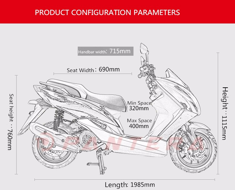 Big Pedal  125cc Scooter Mopeds (3).jpg