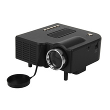 UC28 cheap mini projector 1080p HD home cinema with 80lumens 320*240 resolutions