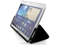 high quality leather ultra-thin fashionable multiple folding smart case