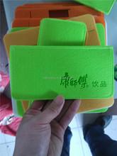 pps filter bag/for macbook carrying bag/felt christmas wine bottle bag