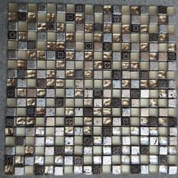 JS glass stone mosaic wall tile