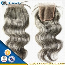 wholesale classic high quality brazilian human blonde hair closure piece with part